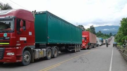 Carreteras bloqueadas en San Martín y Piura por huelga de productores de arroz
