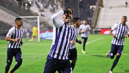 Alianza Lima venció a San Martín y está a un paso de salir campeón