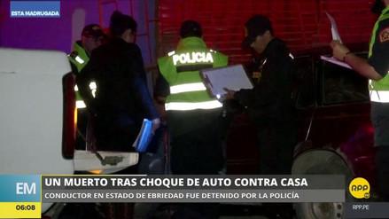 Una mujer murió en un accidente causado por un chofer ebrio