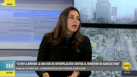 """Karla Schaefer: """"Alberto Fujimori no quiere arresto domiciliario, quiere el indulto"""""""