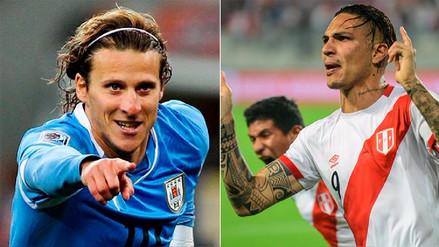 Diego Forlán desea que Paolo Guerrero juegue el Mundial Rusia 2018