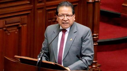 Bancadas del Congreso presentaron moción de respaldo a Pablo Sánchez