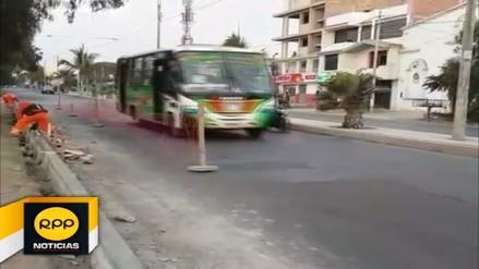 Trujillo: inician la rehabilitación de vías ante pronta llegada del Papa Francisco