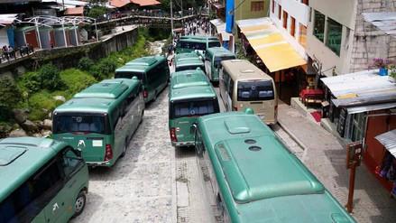 Evaluarán denuncias por suspensión del servicio de buses en Machu Picchu