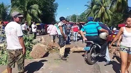 Tarapoto: cuarto día de huelga de arroceros afecta a población