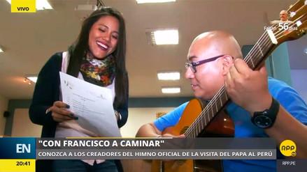 La historia del himno de la visita del papa Francisco al Perú
