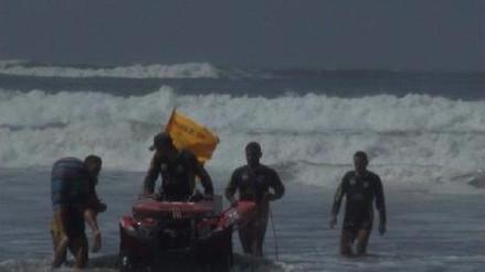 Buzos apoyan en búsqueda de joven aficionado a la pesca en Caravelí