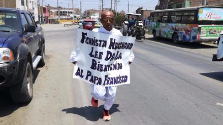 Fondista correrá de Huacho a Lima para recibir al Papa Francisco