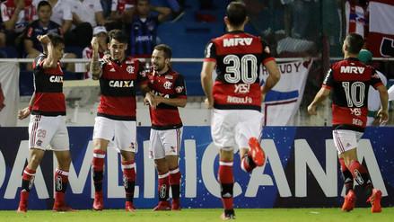 Con Miguel Trauco en cancha, Flamengo clasificó a la final de la Sudamericana