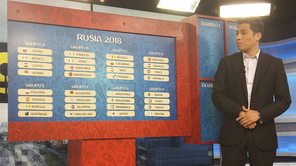Perú en el Grupo B: RPP Noticias simuló el sorteo del Mundial Rusia 2018