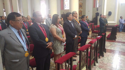 Gobierno de Lambayeque celebra su 15 aniversario con misa y ceremonia