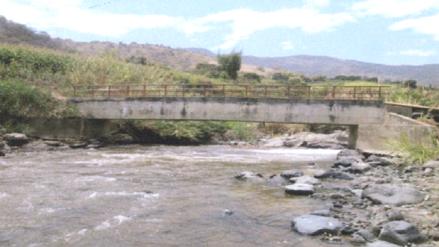 Otorgan buena pro para instalar puente modular en Las Lomas