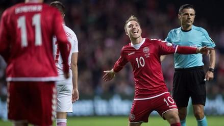 Así le fue a Dinamarca, el primer rival de Perú, en los mundiales