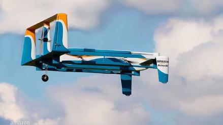 Amazon patenta un drone que se desmantelará ante una emergencia