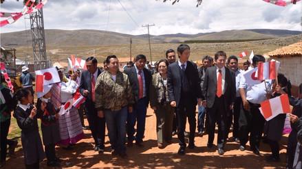 Jauja: población de Pomacancha accedieron a servicio de agua potable