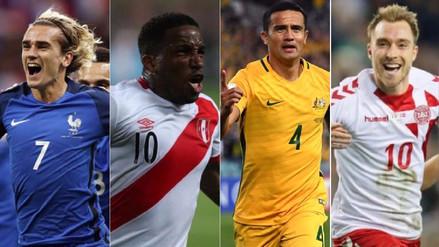 Rusia 2018: fixture y horario de los partidos de la Selección Peruana