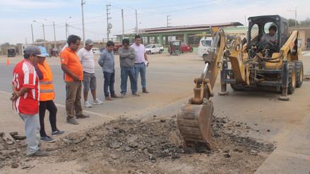 Alcalde de Reque pide a Provías priorizar construcción de rompemuelles