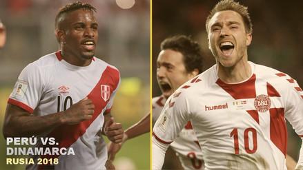Perú vs. Dinamarca | Día y hora del partido del Grupo C de Rusia 2018
