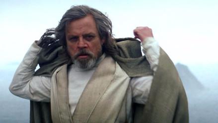 Mark Hamill reveló que cambió el final de 'El despertar de la Fuerza'