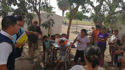 Chiclayo: 50 familias damnificadas recibirán bono de 500 soles
