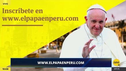 La inscripción virtual para la misa del papa Francisco en Lima comenzó este sábado