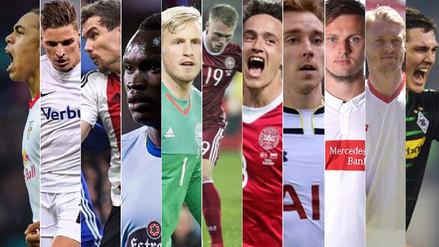 El once de Dinamarca, rival de la Selección Peruana en Rusia 2018