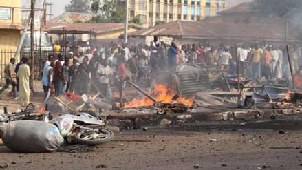 Al menos 13 muertos en doble atentado suicida en mercado de Nigeria