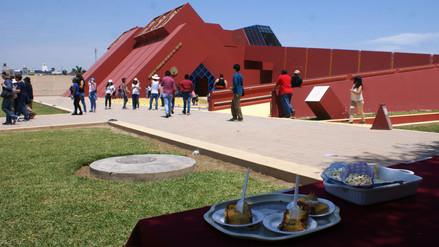 Museo Tumbas Reales de Sipán estima que recibirá hoy más de 2 000 visitantes