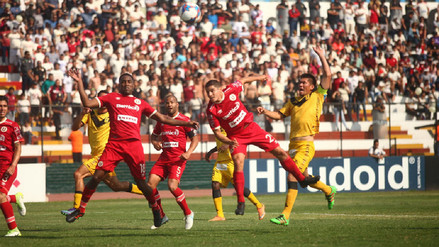 La 'U' perdió ante Cantolao y tendrá que conformarse con la Libertadores
