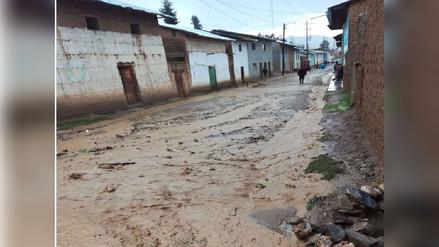 Fuertes lluvias inundaron calles y más de 30 casas en Amarilis