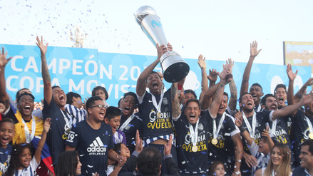 Las postales de la celebración de Alianza Lima tras salir campeón nacional