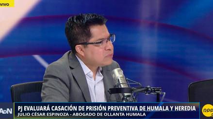 Abogado de Humala y de Heredia: