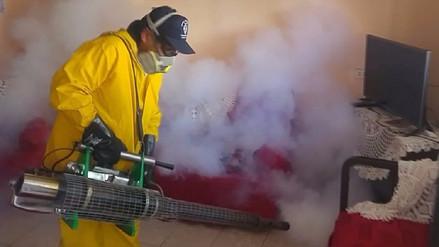 Inician fumigación contra el dengue a cuatro mil viviendas  de Olmos
