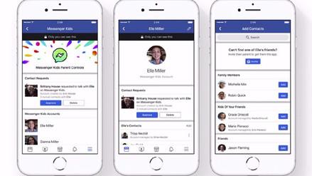Facebook lanza versión de Messenger para niños