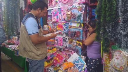 Inician operativos contra juguetes tóxicos en mercados piuranos