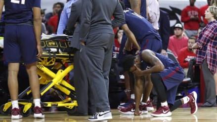 Joven basquetbolista sufrió un infarto en pleno partido en Estados Unidos