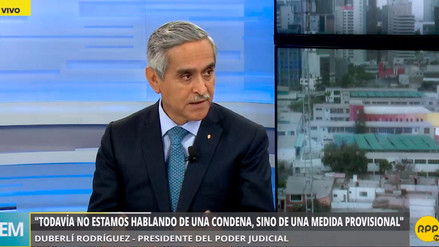 """Duberlí Rodríguez: """"Actuamos con fuerza contra los presuntamente corruptos"""""""