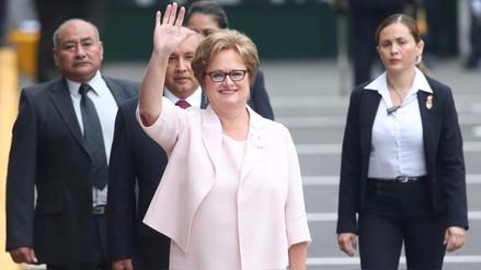 Comisión Lava Jato acordó citar a la primera dama Nancy Lange