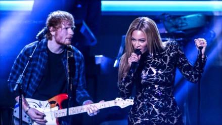 Ed Sheeran revela un extraño hábito de Beyoncé