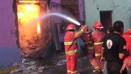 Huancayo: se incrementan en un 50% emergencias atendidas por bomberos