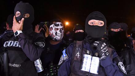 La Policía de Honduras se declaró en huelga en medio de la crisis política