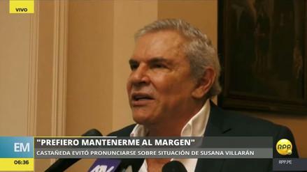 """Castañeda evitó opinar sobre el caso Villarán: """"Prefiero mantenerme al margen"""""""