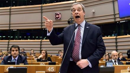 El promotor del Brexit reclamará su pensión a la Unión Europea