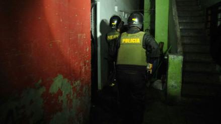 La Policía desarticuló tres peligrosas bandas en un megaoperativo conjunto en San Juan de Lurigancho