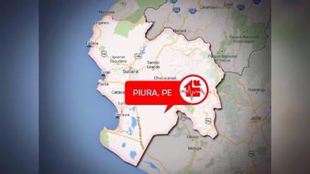Sismo de 4.7 grados remeció distrito piurano de Chulucanas