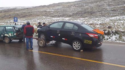 Regidor y gerente municipal resultan graves tras accidente de tránsito en Jauja