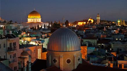 Jerusalén, tierra santa para católicos, musulmanes y judíos
