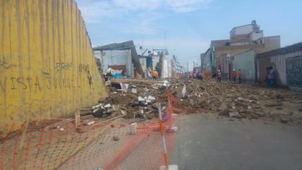 Indeci pide a Cultura revelar estado de centro de Trujillo tras caída de pared