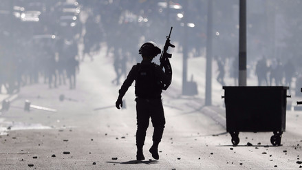 El Ejército israelí desplegó refuerzos en Cisjordania tras el discurso de Trump
