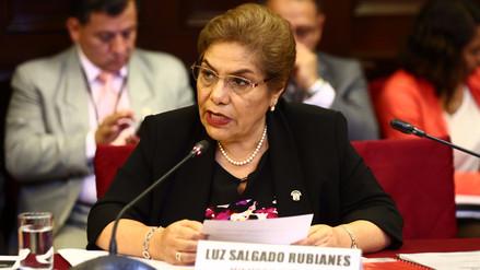 """Luz Salgado: """"El fiscal de la Nación tiene que explicar este atropello"""""""